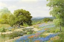 Palmer Chrisman, April in the hill country