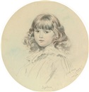 Leslie Matthew Ward, Portrait of Sylvia