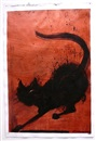 Richard Hambleton, Untitled (cat)