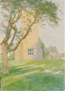 George Harvey, The Parish Church of St. John the Baptist, wickhamford, Worcestershire, England