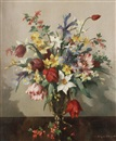 Vernon Ward, A still life of mixed flowers