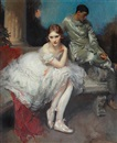 Walter Ernest Webster, The Play is Ended A ballerina and harlequin