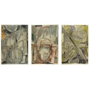 Jasper Johns, Voice 2 (set of 3)