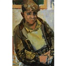 Joan Kathleen Harding Eardley, A Glasgow boy (+ Young girl, verso)