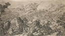 Jacques Aliamet, A battlescene - The battle of Khurungui, Xinjiang? (+ Another; pair)