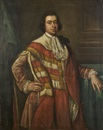 Robert Hunter, Portrait of Edward, Baron Kingston standing in peers robes