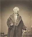 Mathew B. Brady, Samuel Morse with his recorder