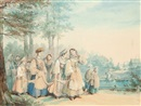Karl Ivanovich Kollmann, A procession of young maids