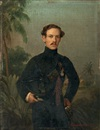 Ferdinand Krumholz, Portrait of an officer (+ 2 others; 3 works)