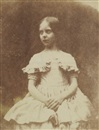 William Henry Fox Talbot, Portrait of Talbot's daughter (Ela?)