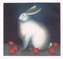 Igor Galanin, Rabbit with strawberries - 1