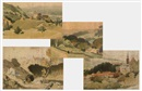 Adolphe Valette, Landscapes (Irgr; set of 4)