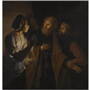 Follower Of Georges de Latour, The Denial of Saint Peter