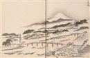 Kitao Masayoshi, Sansui ryakuga shiki - Landscapes in the cursive picture style (vol. w/59 works)