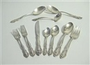 Alvin Corp., Flatware service - Vivaldi pattern (set of 63)