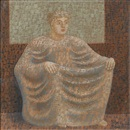 John Armstrong, Square goddess - Seated figure