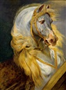 Follower Of Jean Baptiste Louis (Baron Gros) Gros, Le cheval de Murat