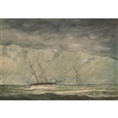 William Armstrong, Sailing vessels in rough weather