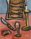 Richard Fremund, A still life with fish