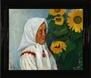 Vladimir Meurman, Russian girl at sunflowers