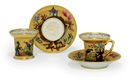 Batenin Factory, Cups and saucers (set of 4)