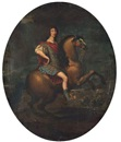 Circle Of Pierre Mignard, Portrait équestre du Grand Condé