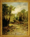 Leopold Rivers, A Devonshire lane near Ashburton