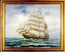 Edward F. D. Pritchard, Ship at sea