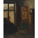 David Alison, A cottage interior
