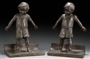 Abastenia St. Leger Eberle, Young boys - Bookends