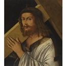 Follower Of Giovanni Bellini, Christ carrying the cross