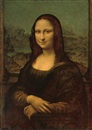 Attributed To Louis Beroud, The Mona Lisa, or La Gioconda (after Leonardo da Vinci)