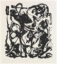 Jackson Pollock, Untitled (suite of 6)