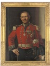 Noel Denholm Davis, Portrait of Deputy-Lieutenant Bayley in a full military uniform