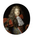 Circle Of Pierre Mignard, Portrait presume du Grand Dauphin