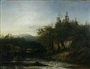 George Loring Brown, River landscape