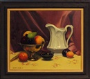 Herbert E. Abrams, Still Life with Fruit and Pitcher