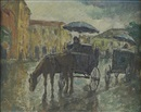 Mischa Askenazy, Horse and carriage on a road
