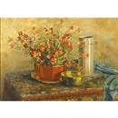 Corinne Damon Adams, Still life with flowers