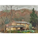 George Franklin Arbuckle, Tuscan farmhouse