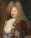 Circle Of Pierre Gobert, Portrait du Grand Dauphin (?) en buste portant l'ordre du Saint-Esprit
