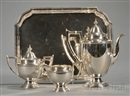 Alvin Corp., Coffee set (+ Salver; 4 pieces)