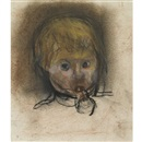 Joan Kathleen Harding Eardley, Child with dummy