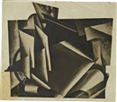Liubov Popova, Photomontage of a painting