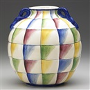 Richard Ginori and Gio Ponti, Quilted vessel
