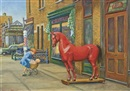 Thomas Attardi, The red horse, lower New York City