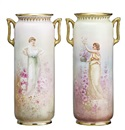 Leslie Harradine, Pair of vases