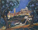 Arthur Kaufmann, View of Siena