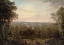 Circle Of George Hilditch, A view from Richmond Hill