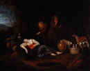 Adriaen Beeldemaker, Sleeping woman